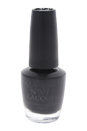 Nail Lacquer - # HR H03 Black Dress Not Optional by OPI for Women - 0.5 oz Nail Polish