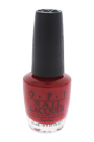 Nail Lacquer - # HR H87 Got The Mean Reds by OPI for Women - 0.5 oz Nail Polish