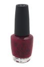 Nail Lacquer # NL E49 Manicurist Of Seville by OPI for Women - 0.5 oz Nail Polish