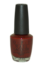 Nail Lacquer # NL L87 Malaga Wine by OPI for Women - 0.5 oz Nail Polish