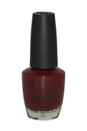 Nail Lacquer # NL W52 Got The Blues For Red by OPI for Women - 0.5 oz Nail Polish