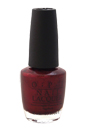 Nail Lacquer # NL F52 Bogota Blackberry by OPI for Women - 0.5 oz Nail Polish