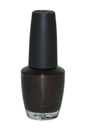 Nail Lacquer # NL R59 Midnight In Moscow by OPI for Women - 0.5 oz Nail Polish