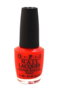 Nail Lacquer # NL B76 Opi On Collins Ave by OPI for Women - 0.5 oz Nail Polish