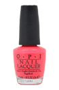 Nail Lacquer # NL B77 Feelin' Hot-Hot-Hot! by OPI for Women - 0.5 oz Nail Polish