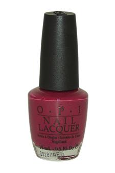 Nail Lacquer # NL E45 No Spain No Gray by OPI for Women - 0.5 oz Nail Polish