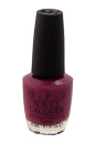Nail Lacquer # NL E50 Pamplona Purple by OPI for Women - 0.5 oz Nail Polish