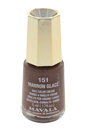 Nail Lacquer # 151 - Marron Glace by Mavala for Women - 0.17 oz Nail Polish