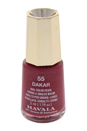 Nail Lacquer # 55 - Darkar by Mavala for Women - 0.17 oz Nail Polish