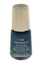 Nail Lacquer # 134 - Caftan Blue by Mavala for Women - 0.17 oz Nail Polish