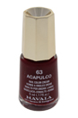 Nail Lacquer # 63 Acapulco by Mavala for Women - 0.17 oz Nail Polish