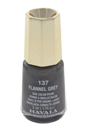 Nail Lacquer # 137 - Flannel Grey by Mavala for Women - 0.17 oz Nail Polish