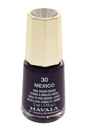 Nail Lacquer # 30 - Mexico by Mavala for Women - 0.17 oz Nail Polish