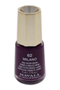 Nail Lacquer # 62 - Milano by Mavala for Women - 0.17 oz Nail Polish