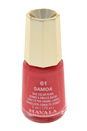 Nail Lacquer # 61 - Samoa by Mavala for Women - 0.17 oz Nail Polish