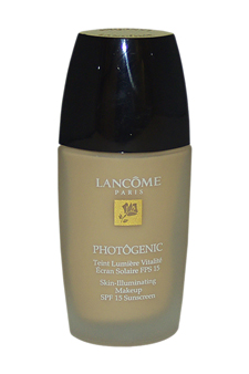 Photogenic Skin Illuminating Makeup SPF 15 Bisque 6 W (Unboxed) by Lancome for Women - 1 oz MakeUp