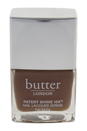 Patent Shine 10X Nail Lacquer - Tea Time by Butter London for Women - 0.4 oz Nail Lacquer