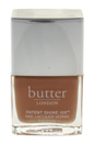 Patent Shine 10X Nail Lacquer - Tea With the Queen by Butter London for Women - 0.4 oz Nail Lacquer
