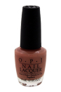 Nail Lacquer # NL E41 Barefoot In Barcelona by OPI for Women - 0.5 oz Nail Polish