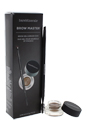 Brow Master Brow Gel & Brush Duo - Universal Taupe by bareMinerals for Women - 0.11 oz 0.11oz Brow Gel, Brush