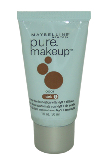 Maybelline Pure Makeup Cocoa - Dark 3 by Maybelline for Women - 1 oz Foundation