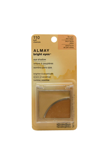 Bright Eyes Eye Shadow # 110 Buff by Almay for Women - 0.11 oz Eye Shadow