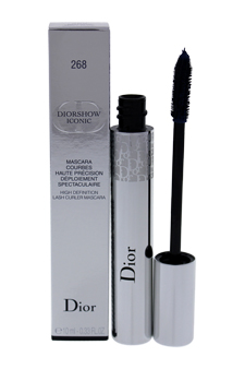Christian Dior DiorShow Iconic High Definition Lash Curler Mascara # 268 Navy Blue women 0.33oz