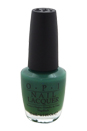 Nail Lacquer # NL H45 Jade Is The New Black by OPI for Women - 0.5 oz Nail Polish