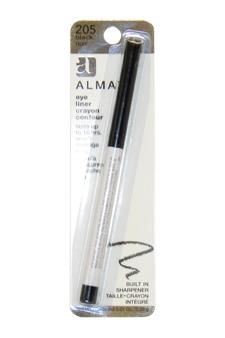 Eyeliner Crayon Contour #205 Black Noir by Almay for Women - 0.01 oz Eyeliner