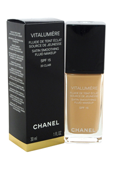 Vitalumiere Satin Smoothing Fluid Makeup SPF 15 # 20 Clair at Perfume WorldWide