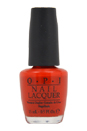 Nail Lacquer - # NL N25 Big Apple Red by OPI for Women - 0.5 oz Nail Polish