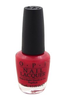 Nail Lacquer # NL L72 OPI Red by OPI for Women - 0.5 oz Nail Polish