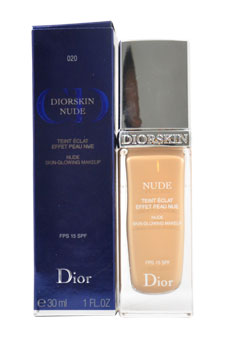 Diorskin Nude Skin-Glowing Makeup SPF 15- # 020 Light Beige by Christian Dior for Women - 1 oz Concealer