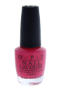 Nail Lacquer - # NL B35 Charged Up Cherry by OPI for Women - 0.5 oz Nail Polish