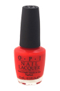 Nail Lacquer - # NL A44 Tasmanian Devil Made Me Do It by OPI for Women - 0.5 oz Nail Polish