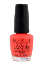 Nail Lacquer - # NL T30 I Eat Mainely Lobster by OPI for Women - 0.5 oz Nail Polish