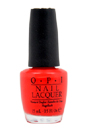 Nail Lacquer - # NL H42 Red My Fortune Cookie by OPI for Women - 0.5 oz Nail Polish