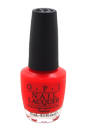 Nail Lacquer - # NL L64 Cajun Shrimp by OPI for Women - 0.5 oz Nail Polish