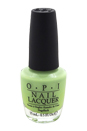 Nail Lacquer - # NL B44 Gargantuan Green Grape by OPI for Women - 0.5 oz Nail Polish