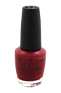 Nail Lacquer - # NL H02 Chick Flick Cherry by OPI for Women - 0.5 oz Nail Polish