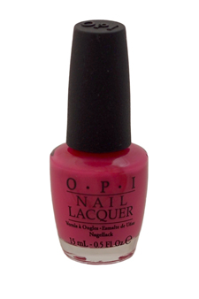 Nail Lacquer - # NL H59 Kiss Me On My Tulips by OPI for Women - 0.5 oz Nail Polish