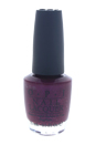 Nail Lacquer - # NL U01 Congeniality Is My Middle Name by OPI for Women - 0.5 oz Nail Polish