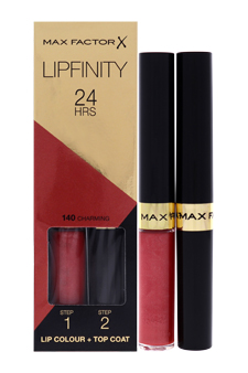 Lipfinity - # 140 Charming by Max Factor for Women - 4.2 g Lip Stick
