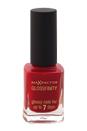Glossfinity Nail Polish - # 110 Red Passion by Max Factor for Women - 11 ml Nail Polish