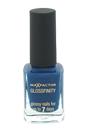 Glossfinity Nail Polish - # 140 Cobalt Blue by Max Factor for Women - 11 ml Nail Polish