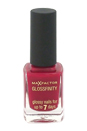 Glossfinity Nail Polish - # 155 Burgundy Crush by Max Factor for Women - 11 ml Nail Polish