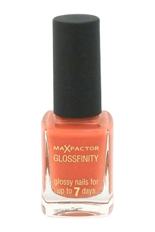 Glossfinity Nail Polish - # 70 Cute Coral by Max Factor for Women - 11 ml Nail Polish