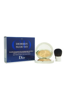 Christian Dior Diorskin Nude Tan Healthy Glow Enhancing Powder With Kabuki Brush - # 004 Sunset women 0.35oz