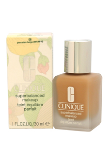 Superbalanced Makeup - # 08 Porcelain Beige (MF/M-N) - Normal To Oily Skin by Clinique for Women - 1 oz Foundation