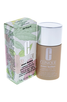 Even Better Makeup SPF 15 - # 08 Beige (M-N) - Dry To Combination Oily Skin by Clinique for Women - 1 oz Foundation